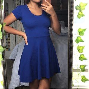 Cute Royal Blue Dress Small